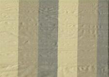 2.75 Yds Robert Allen Fabrics Palmeiro Jute Striped  Drapery Upholstery