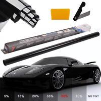 PRO ULTRA LIGHT 50% CAR WINDOW TINT ROLL 2X3M x 76CM FILM TINTING ANTI-SCRATCH