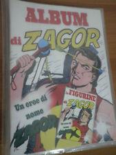 ZAGOR Album Figurine con Set completo inedito + Calcarello No n 52 Zenith