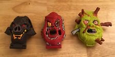 1992 BLUEBIRD TOYS Mighty Max Horror Head Playsets - No Figures -