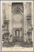 Gisors France Frankreich CPA ~1900 Cathédrale intérieur Innenansicht Kathedrale