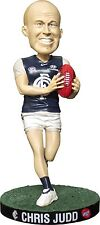 "AFL - Chris Judd 8"" Carlton Blues Bobble Head (Elite Sports) #NEW"