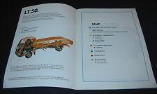 SSP 52 VW LT 50 mit 6 Zylinder Vergaser Diesel Motor Getriebe Achsen 02/1983