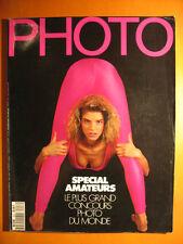PHOTO 257 du 02/1989 -Spécial amateurs, les plus grands concours Photo du Monde