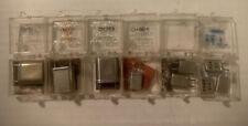 Vintage Lot of 9 Cb Radio Jk Crystal Crystals