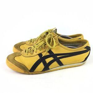 Asics Onitsuka Tiger Mexico 66 Bruce Lee Kill Bill shoe Yellow Black Men Size 10