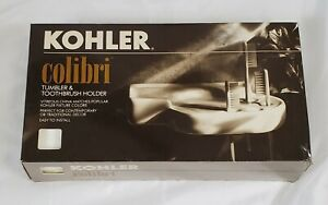 Kohler Colibri Single Tumbler and Toothbrush Holder Raspberry Puree Color
