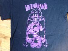 WINDHAND BLACK T-SHIRT DOOM HEAVY THRASH METAL BAND RICHMOND VA VIRGINIA ROCK