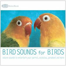 BIRD SOUNDS for BIRDS CD: Entertain Your Cockatoo, Parrot, Parakeet NEW UNOPENED