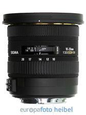 Sigma super-gran angular-zoom lente EF 10-20 mm f/3, 5 ex DC HSM para Canon EOS