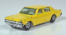 """Vintage Yatming Opel Admiral 3"""" Die Cast Scale Model 1018 Yellow 1969-1977"""