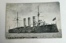 HMS BEDFORD POSTCARD, ROYAL NAVY WW1 CRUISER ABRAHAMS