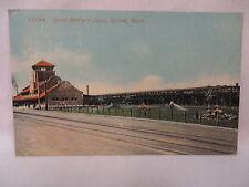 VINTAGE POSTCARD THE GREAT NORTHERN RAILROAD DEPOT IN EVERETT WASHINGTON 1919