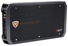 New Rockville RXA-T2 2400 Watt Peak/1250w RMS 2 Channel Amplifier Car Stereo Amp