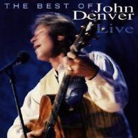 """JOHN DENVER """"BEST OF JOHN DENVER LIVE"""" CD -------- 16 TITEL -------- NEUWARE"""