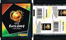 Panini UEFA EURO 2004 Portugal - 1 SEALED PACKET - Type Europe Rear Landscape