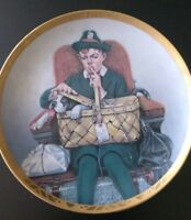 Traveling Companions/N.Rockwell #0019A Sat.Evening Post collectible plate decor