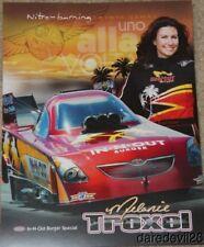 2011 Melanie Troxel In-N-Out Burger Toyota Camry Funny Car NHRA postcard