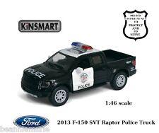 Ford 2013 F-150 SVT Raptor Police Truck  1:46 scale  Kinsmart # 5365DP