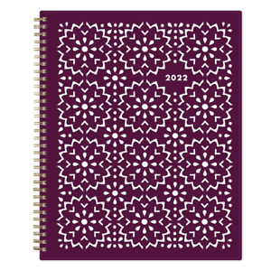 """Blue Sky Weekly/Monthly Planner, 8-1/2"""" x 11"""", Gili, 2022, 117889"""