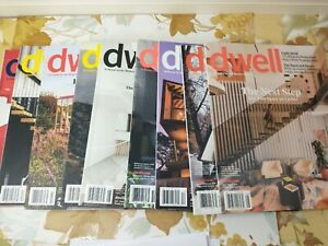 9 Dwell Magazine Back Issues Lot 2018 & 2019 & 2020 Incomplete Years Modern Home