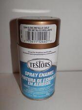 Testors Spray Enamel 3oz Gloss Metallic Gold #1244 New
