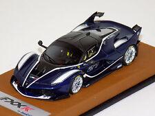 1/43 Looksmart Ferrari FXX-K Blu TDF Bianco Fuji Racing Livery #27 Leather Base