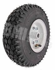 "4.10/3.50 Tire with Split 4"" Rim (3/4"" Bore) - Rear Go Kart Carts Wheel Parts"