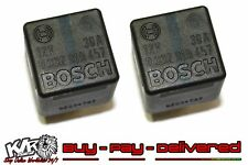 Holden Bosch TWO 4 PIN RELAY 12v 30a 0332014457 92034787 - 2pc - VN to VZ - KLR
