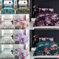 Duvet Cover Set Double Single Super King Size Pillowcases New Printed Bedding