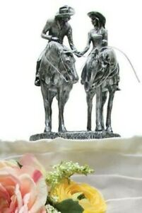 Montana Silversmiths Cake Topper Two Trails Become One Western Wedding Horse