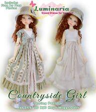 "KW14008 Pajama  Party pattern to fit  Kaye Wiggs 14/"" Mini girls"