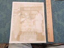 Original 8x10 1930s A-1 Souce Supermarket photo New York City NYC ?