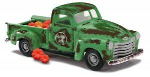 Busch 48240 - 1/87 Chevy Pick-Up, Kürbislaster - Neuf