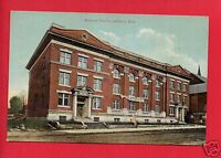 JACKSON MI MICHIGAN MASONIC TEMPLE MASONIC FAIR SIGN  DRAKE BROS  POSTCARD