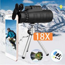 50X60 Zoom HD Jumelle Monoculaire Télescope Vision Nocturne Téléphone Clip Focus