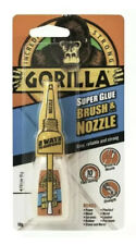 Gorilla Super Glue Brush & Nozzle Strong Ceramic Porcelain Wood Fast Setting 10g
