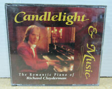 Candlelight & Music The Romantic Piano Of Richard Clayderman Format: 3 × CD 1992