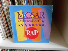 "M.C. SAR & THE REAL McCOY ""IT'S ON YOU"" 7"""