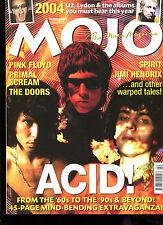 MOJO no. 123  February 2004  :  Acid!  /  U2  /  Pink Floyd
