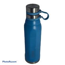 💕 MyBevi Stainless Steel Canteen Water Bottle 25 oz Aqua Blue My Bevi EUC M0