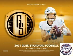 Buffalo Bills 2021 Gold Standard Football 1/3 Case 4Box Break
