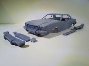 1/25 3D printed resin 1974 Ford Mustang coupe body kit (ONE OFF)
