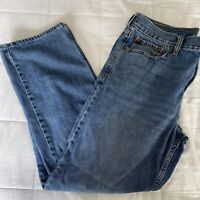 Old Navy Jeans Mens Sz 34 X 30 Straight Leg Medium Wash Denim