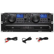 """Gemini CDX-2250i Pro DJ Dual Twin 2x CD Player + 2x USB + MP3 19"""" Rackmount 2U"""