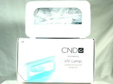 CND UV Lamp 08200 with 4 Light Bulbs For use with Nail Shellac Brisa Gel