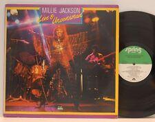 Millie Jackson       Live & Uncensored          DoLp         USA        NM # D
