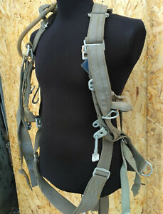 Chute Parachute Harness Military Paratrooper Buckingham Safety Pole Climbing