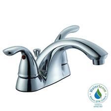 Aqueous Chrome Bath Lavatory Sink Faucet w/ Pop Up Drain Ships Free!