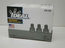 (50-Pack) Ideal 30-342 Twister Wire Connector Gray Min: 3x #14, Max: 2#8 & 2#12